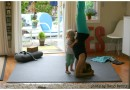 Melanie Lora Meltzer MyYogaWorks Manduka yoga photo by Rand Denny