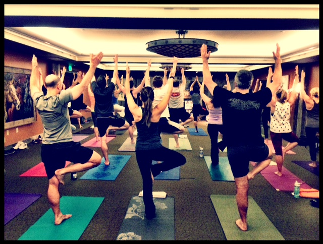 yoga retreat-yoga