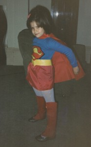 Supergirl England Halloween