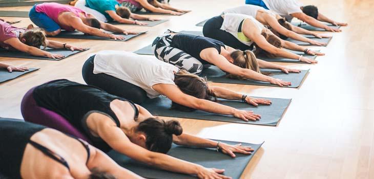 fall into yoga